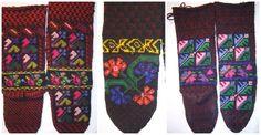 Socks from Timok Region of Serbia. Village of Mali Izvor.