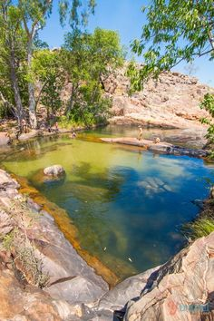 Gunlom Falls - Yellow Water Cruise, Kakadu National Park, Northern Territory, Australia
