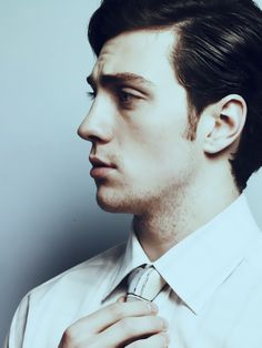 Aaron Johnson--one of the possible screenwriters wants this guy as his Christian Grey.  NO! Can't happen.