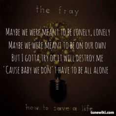 The Fighter by The Fray