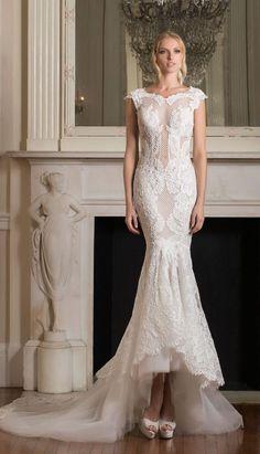 Featured Dress  Pnina Tornai  Wedding dress idea. Abito Da Sposa Elegante 9322ed1b3b7