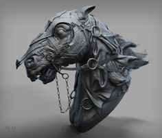ArtStation - the nazgul horse, Han 419580826@qq.com