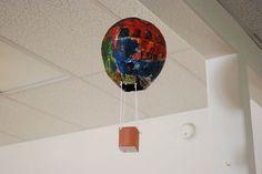 Hot Air Balloon Art Activity