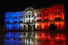 Pin for Later: Cities of the World Pay Tribute to Paris Following the Recent Terrorist Attacks Bosnia and Herzegovina