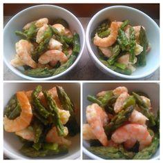 Oggi ancora asparagi…. Verdura di stagione, ma anche un'ottima ricettina rubata ad un pranzo con ami...