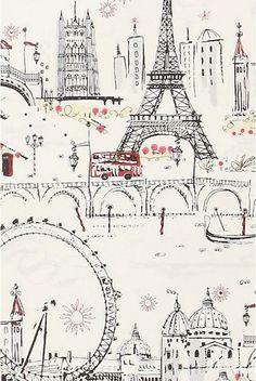 #Illustration #Paris