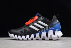 Buy Best Quality adidas Terrex M Black/Royal Blue-White For Men and Women's Sports Shoes from PerfectKicks with Affordable Cheap Price. Black N Yellow, Blue Orange, Black And Grey, Adidas Models, Adidas Men, New Adidas Shoes, Adidas Sneakers, Jordan 13 Black, White Shoes