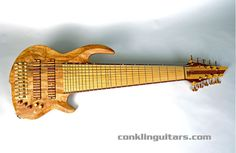 Conklin 10 string bass. Not for the small-handed.