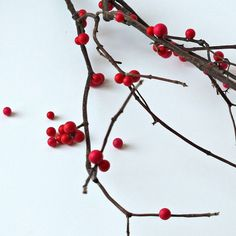 easy diy winterberry branches for christmas, christmas decorations, crafts, seasonal holiday decor Pine Cone Crafts, Holiday Crafts, Tree Decorations, Christmas Decorations, Holiday Decorating, Knock Off Decor, Crafts For Kids, Diy Crafts, Beach Crafts