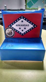 float arkansas states shoebox school united shoebox floats united ...