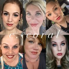"C coral #senegence #Lipsense Follow and order on my facebook page - "" Forever Beauty by Elvia"""
