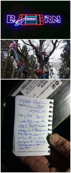 """Geocache of the Week: A race against time in Göttingen - BORN (GC5EG96). This D5/T4 geocache cannot be found alone. In fact, you'll need 10-20 geocachers split into three teams in order to have a chance of finding it. One team stays at """"Headquarters"""": a location of their choosing, preferably filled with snacks. The other two teams are sent to 45 different locations around the city. At every location there's a countdown, and all three teams are given a question/puzzle to solve.  #IBGCp"""