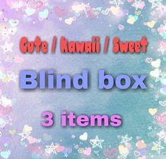 "Caja sorpresa de temática ""Cute"", Caja sorpresa, paquete sorpresa, regalo sorpresa, pedido sorpresa, blind box, cute, kawaii, sweet,"