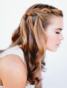 dicas de penteados com tranças fáceis