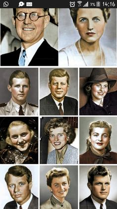 Nice family tree in photos Les Kennedy, John Kennedy Jr, Caroline Kennedy, Familia Kennedy, Who Is The Father, Long Pictures, John Fitzgerald, Idole, Family Album