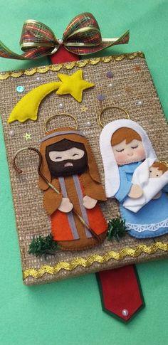 Ornament Crafts, Christmas Projects, Felt Crafts, Christmas Crafts, Christmas Decorations, Felt Christmas Ornaments, Christmas Nativity, Christmas Time, Felt Ornaments Patterns
