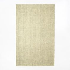 An everyday classic, this handwoven rug is made in southern India from jute—a highly sustainable, rapidly renewable resource and a particularly durable material. Available in neutral-colored Ivory, this beautifully textured rug is also rever… Natural Fiber Rugs, Natural Rug, Basket Weaving, Hand Weaving, Morrocan Rug, Jute Rug, Bedding Shop, Room Rugs, Grey Rugs