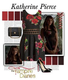 Katherine Pierce - The Vampire Diaries Vampire Diaries Outfits, Vampire Diaries The Originals, Vampire Outfits, Chloe Bennett, Pretty Little Liars Fashion, Character Inspired Outfits, Katherine Pierce, Gone Girl, Capsule Wardrobe