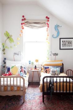 Gender neutral kids room
