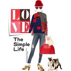 Love, actually, created by pensivepeacock.polyvore.com