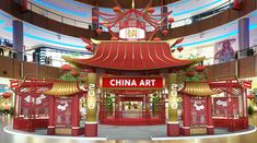 Chinese New Year - What To Do - Connector Dubai Air China, China Art, Chinese New Year Design, Chinese Style, 3d Design, Event Design, Shop Display Stands, Exhibition Display, Commercial Art