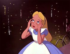 "This poor little thing is tripping. It's fun until it's not. | Disney's ""Alice In Wonderland"" Scarred You For Life"