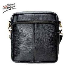 men bags men casual 100% genuine leather   man business bag men's handbag