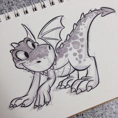 #dragon #brushpen #breaksketch #cartoons