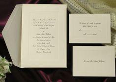 Ecru Wedding Invitations Response Informal Note Set