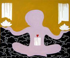 """andrea mattiello """"meditazione""""  acrilico e grafite; cm 120x100; 2011 #andreamattiello #mattiello #arte #art #contemporaryart #italianartist #artista #artista #emergente #acrilico #tela #tecnicamista #acrylic #canvas #collage"""