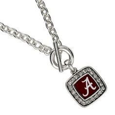 "$5.50 18"" Crystal Accented University of Alabama Necklace"
