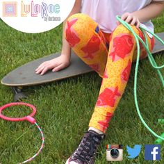 LuLaRoe bringing you fun, bright, and youthful leggings. Find yours today! https://www.facebook.com/groups/lularoederbecca
