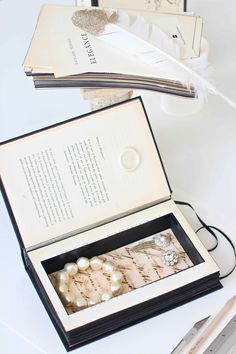 The Simple Guide to Making Secret Books...Secret book-boxes for storing treasures!