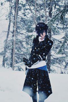 Hakuouki 薄桜鬼  Hakuoki ~Demon of the Fleeting Blossom~ \ \ \ Hajime Saitou
