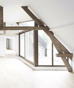 Fashionable attic - lovely photo