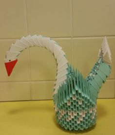 3 D, Origami, Origami Paper, Origami Art