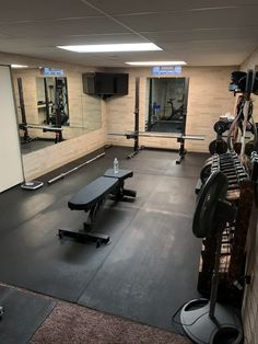 I have used Ethos for two weeks before returning it to Dicks. I never had a power rack before so I didn't know my preferences before buying it. Home Gym Basement, Home Gym Garage, Gym Room At Home, Basement Remodeling, Crossfit Garage Gym, Home Made Gym, Diy Home Gym, Home Gym Decor, Workout Room Home