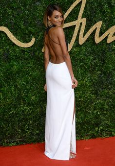 Jourdan Dunn aux British Fashion Awards 2015