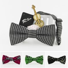 Hot sale!Cheap price square lattice cotton tie check plaid bowtie tuxedo cashmere bow ties good quality necktie butterfly