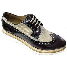 Scarpe eleganti Brecos 6014 Bordeaux