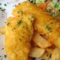 Crispy Delicious Gluten-Free Fish Fry Recipe 2 lbs fish, 1 C GF flour ...