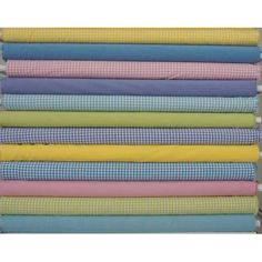 In The Beginning Fabrics Modern Plaids and Solids 12 Fat Quarters