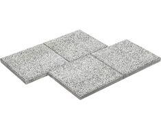 Beton Terrassenplatte Cassana weiß 40x40x4cm