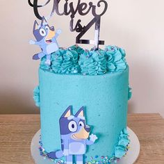 Images about #blueycake on Instagram Birthday Ideas, Birthday Parties, Cake Art, Delish, Party Ideas, Homemade, Cakes, Baking, Desserts
