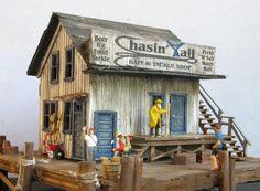Bait & Tackle Shop Model Train Building