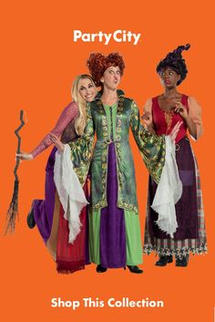 Family Halloween Costumes, Group Costumes, Halloween Season, Adult Costumes, Sanderson Sisters, Dress Up, Seasons, Disney, Collection
