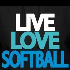 Softball Softball Shirts, Softball Players, Girls Softball, Fastpitch Softball, Softball Stuff, Live Love, Love Of My Life, My Love, I In Team