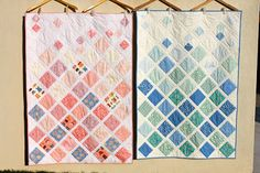 Sewing Over Pins: Finished: Terrain Baby Quilt