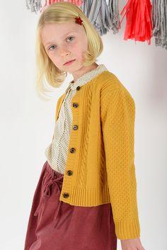 Corduroy Full Skirt with Emmeline top | Olive Juice #girlsholiday