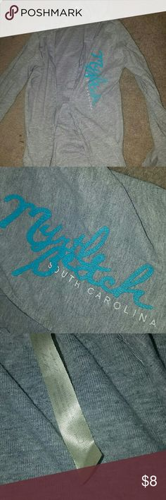 Zip Up hoodie - myrtle beach South Carolina myrtle beach zip up sweatshirt worn only a few times size large but is tight, recommended for a size small/medium Tops Sweatshirts & Hoodies